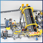 LEGO GBC Module: GBC Module 15 from PV-Productions - LEGO Great Ball Contraption - Planet-GBC
