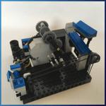 LEGO GBC Module: Cardan Lift Miniloop from sawyer - LEGO Great Ball Contraption - Planet-GBC