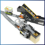 Railway System Reverse module V-type