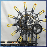 Module LEGO GBC: Orbit Overlap de Riku Katsumata - LEGO Great Ball Contraption - Planet-GBC