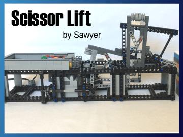 Great Ball Contraption - Scissor Lift sur Planet GBC