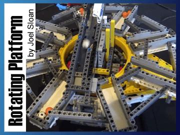 Great Ball Contraption - Rotating Platform sur Planet GBC