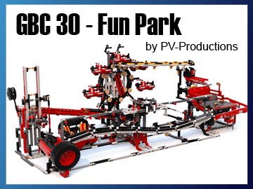 Great Ball Contraption - GBC 30 - Fun Park sur Planet GBC