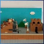 GBC Module: GBC Super Mario module from Pinwheel  - LEGO Great Ball Contraption - Planet-GBC