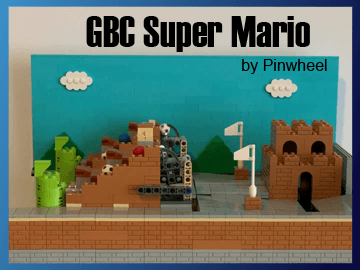 Great Ball Contraption - GBC Super Mario module on Planet GBC