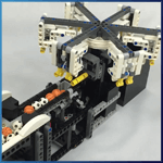 Module LEGO GBC: Ice Crystal de Riku Katsumata - LEGO Great Ball Contraption - Planet-GBC