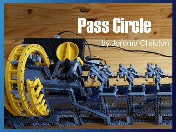 Great Ball Contraption - Pass Circle on Planet GBC