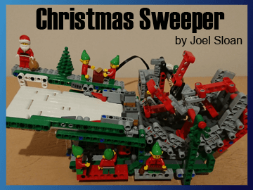 Great Ball Contraption - Christmas Sweeper on Planet GBC