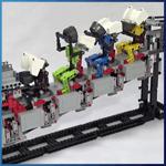 GBC Module: GBC Ball Rolling Machine 4 from Rimo Yaona - LEGO Great Ball Contraption - Planet-GBC