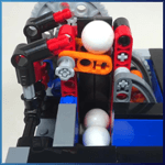 GBC Module: Mini Elevator Module from Sam Friesen - LEGO Great Ball Contraption - Planet-GBC