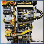 GBC Module: GBC Tower from Diego Baca - LEGO Great Ball Contraption - Planet-GBC