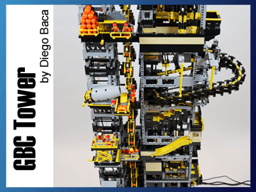 Great Ball Contraption - GBC Tower sur Planet GBC