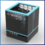 GBC Module: Ball Bin Stepper from Pinwheel  - LEGO Great Ball Contraption - Planet-GBC