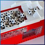 Module LEGO GBC: Sloped Stepper de Pinwheel  - LEGO Great Ball Contraption - Planet-GBC