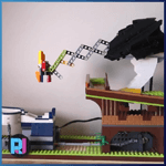 GBC Module: Bird of Passage from RJ BrickBuilds - LEGO Great Ball Contraption - Planet-GBC