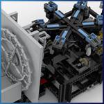 GBC Module: Geneva Drive from Takanori Hashimoto - LEGO Great Ball Contraption - Planet-GBC