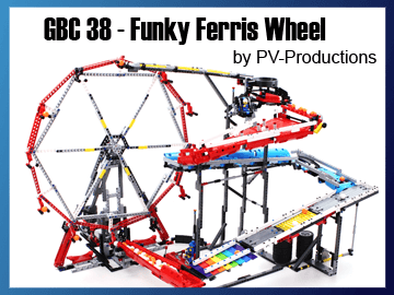 Great Ball Contraption - GBC 38 - Funky Ferris Wheel sur Planet GBC