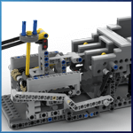 GBC Module: Two Turning Arms from LegoMarbleRun - LEGO Great Ball Contraption - Planet-GBC