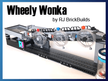 Great Ball Contraption - Wheely Wonka on Planet GBC