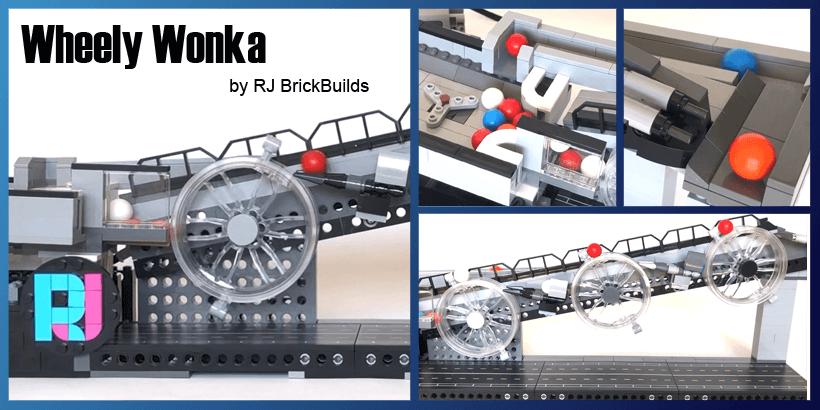 LEGO GBC - Wheely Wonka - RJ Brickbuilds - LEGO Building Instructions available on Planet GBC
