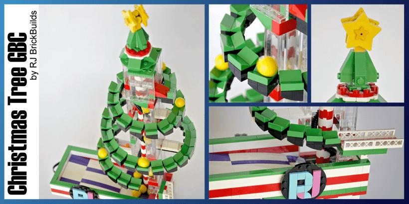 LEGO GBC - Christmas Tree - RJ Brickbuilds - LEGO Building Instructions available on Planet GBC