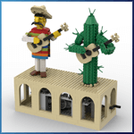 Automate LEGO: Mariachi de TonyFlow76 - LEGO Great Ball Contraption - Planet-GBC