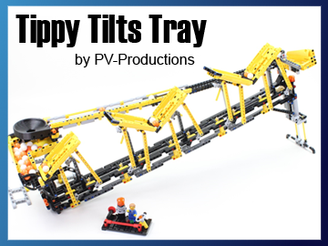 Great Ball Contraption - GBC 40 - Tippy Tilt Trays on Planet GBC