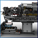 LEGO GBC Module: LEGO GBC Detachable Cable Car - Chairlift from Tomas Ullrich - LEGO Great Ball Contraption - Planet-GBC