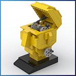 Automate LEGO: Inspiration de TonyFlow76 - LEGO Great Ball Contraption - Planet-GBC