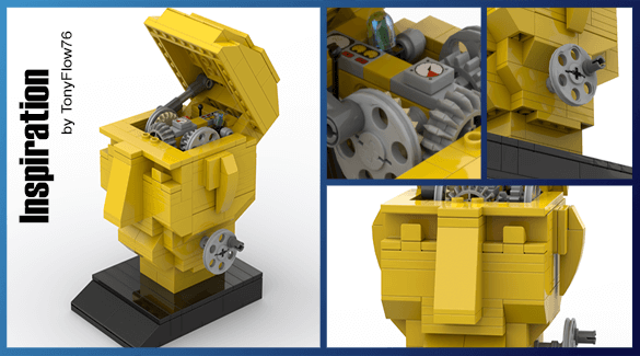 LEGO Automaton - Inspiration, by TonyFlow76 | Planet GBC