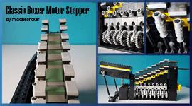 Build LEGO GBC - LEGO marble Run - LEGO GBC - Classic Boxer Motor Stepper, by mickthebricker | Planet GBC