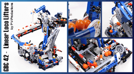 LEGO GBC - GBC 42 - Linear Loco Lifters, by PV-Productions | Planet GBC