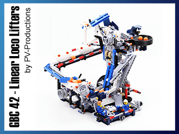Great Ball Contraption - GBC 42 - Linear Loco Lifters sur Planet GBC