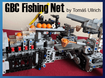 Great Ball Contraption - GBC Fishing net on Planet GBC