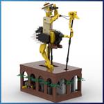 LEGO Automaton: Explorer from TonyFlow76 - LEGO Great Ball Contraption - Planet-GBC