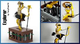 LEGO Automaton - Explorer, by TonyFlow76 | Planet GBC