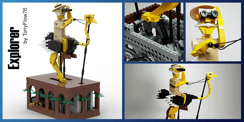 LEGO Automaton - Explorer, by TonyFlow76 | Planet GBC