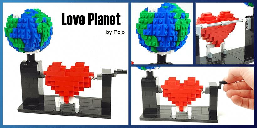 LEGO Automaton - Love Planet, by Polo | Planet GBC