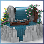 Automate LEGO: Waterfall de TonyFlow76 - LEGO Great Ball Contraption - Planet-GBC