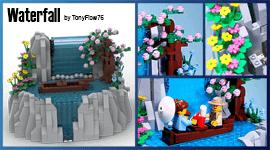 LEGO Automaton - Waterfall, by TonyFlow76 | Planet GBC