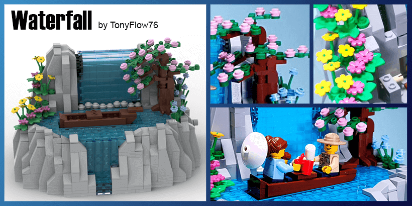 LEGO Automaton - Waterfall, by TonyFlow76 | Planet GBC