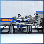 LEGO GBC Module: Extending Forks from sawyer - LEGO Great Ball Contraption - Planet-GBC