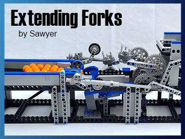 Free LEGO GBC Building Instructions fro Extending Forks - Sawyer - on planet GBC