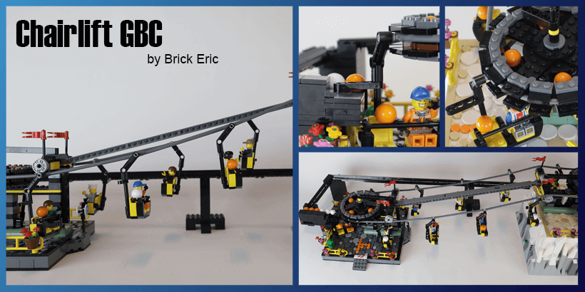 LEGO GBC - Chairlift GBC - Brick Eric - with free building instructions