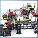 LEGO GBC Module: GBC Ball Rolling Machine 11 from Rimo Yaona - LEGO Great Ball Contraption - Planet-GBC