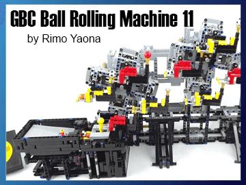 Great Ball Contraption - GBC Ball Rolling Machine 11 on Planet GBC