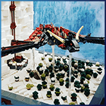 LEGO Automaton: Game of Thrones from Jolly 3ricks - LEGO Great Ball Contraption - Planet-GBC