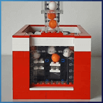 LEGO GBC Module: Double Pump V2 from mickthebricker - LEGO Great Ball Contraption - Planet-GBC