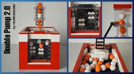 LEGO GBC - Building instructions Ball Double Pump v2 - mickthebricker | Planet GBC