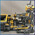Module LEGO GBC: GBC Rotating Cup de sawyer - LEGO Great Ball Contraption - Planet-GBC